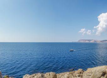 Zatoka u wybrzeża Chorwacji